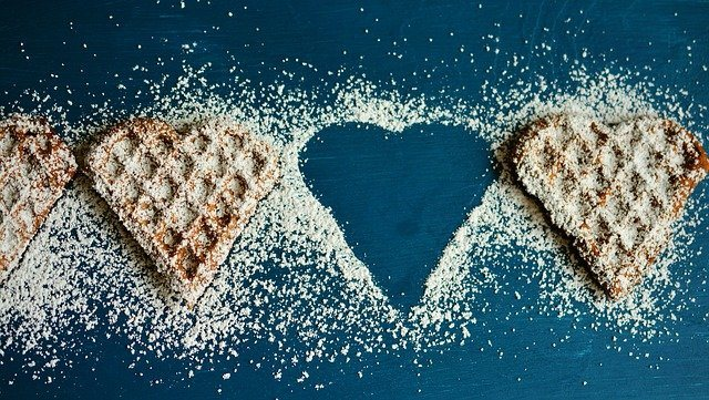 waffle heart